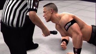 WWE '13 Wrestlemania 29: Undertaker vs John Cena (I Quit match, World Championship) Part 8/11