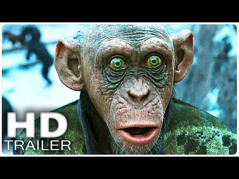 WAR FOR THE PLANET OF THE APES Final Trailer Extended 2017