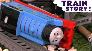 Thomas and Friends  Prank Mayhem with Accidents and Crashes - Pranks with Train Toys for kids TT4U