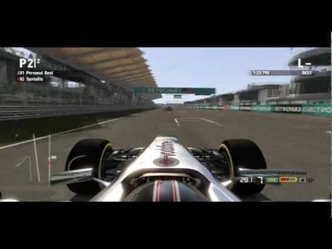 F1 2011 - Time Trial: Personal HOT Lap (Sepang, Malaysia) - 1'2X.XXX