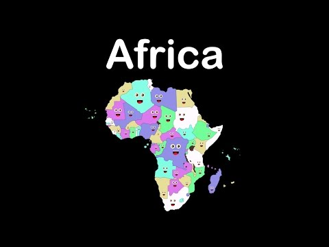 African Countries and Capitals Song/African Countries