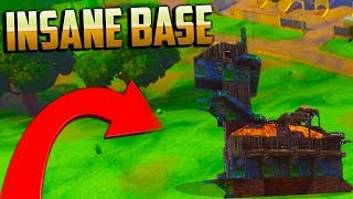 BUILDING THE craziest AND BIGGEST FORTNITE BASE! WITH OVER 1000 BRICKS (Fortnite Battle Royale)