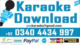 Sham hui jane de   Karaoke   Noor Jahan   Rajab Ali