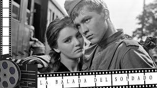 """Pelicula rusa """"La balada del soldado"""" HD 1959 en español"""