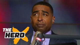 Cris Carter shares stories about playing against Michael Jordan as a teenager | THE HERD