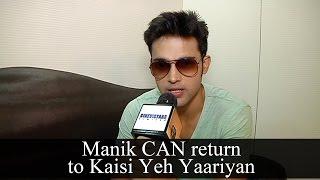 Parth Samthan aka Manik CAN comeback in Kaisi Yeh Yaariyan Season 2