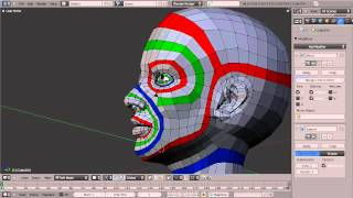 Blender Topology Collection: Head Overview