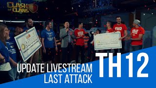 Clash of Clans TH12 Live Stream | The Wining Attack + Celebration