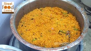 How to Make Restaurant Style Tomato Rice Recipe| Street Food Around The World | Street Food Catalog