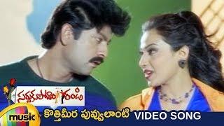 Sardukupodam Randi Telugu Movie   Kottimera Puvvulanti Video Song   Jagapathi Babu   Asha Saini