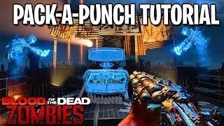 How To PACK A PUNCH in BLOOD OF THE DEAD (Black Ops 4 Zombies Gameplay Tutorial Guide)