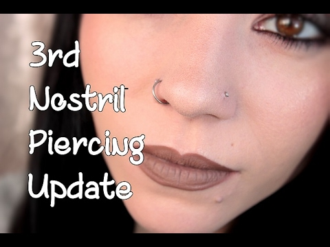 Xxx Mp4 Nostril Piercing 1 Month Update Piercing BUMPS 3gp Sex