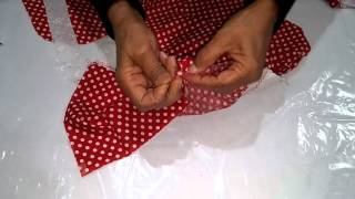 Class 7 - Baby frock Cutting and Stitching