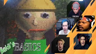 Gamers Reactions to the Baldi Jumpscare | Baldi