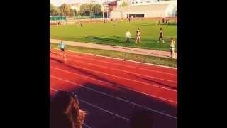 EDİRNE-Trakya Üniversitesi Atletizm 100 Metre Yetenek Sınavı