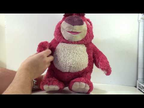Video review of the Toy Story Collection Series; Lots o Huggin Bear