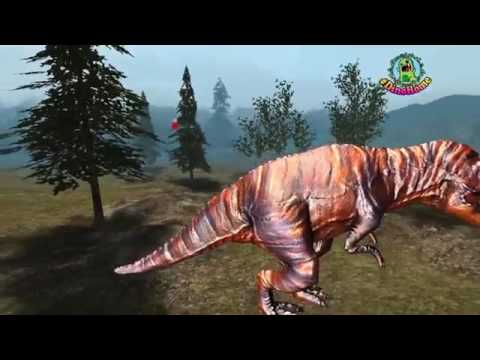 #Crazy Dinosaur Battle #Gorilla Finger Family Lyric Song #Nursery #Rhymes #Dinosaur #Fin