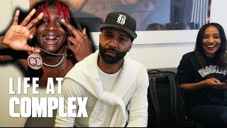 """LIL YACHTY TOLD JOE BUDDEN TO """"CHILLLLLL!""""   #LIFEATCOMPLEX"""