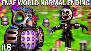 The Puppet Plays: FNAF World #8 || PUPPET PULLS THE STRINGS