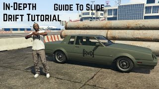 Guide To Slide | In-Depth GTA 5 Drifting Tutorial (How To Drift In GTA 5)