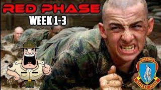 FORT JACKSON   BASIC TRAINING 2017: RED PHASE (WEEK 1-3)