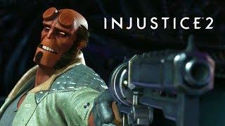 Injustice 2 - Hellboy Gameplay Trailer