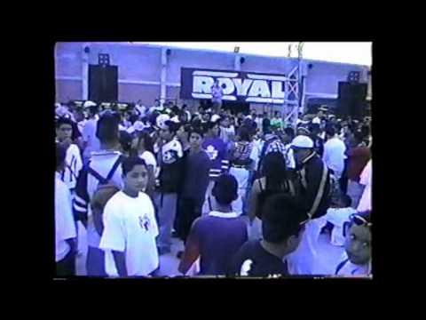 SONIDO ROYAL MDB MARAVILLA SONORAMICO 1999 SILVER TOWN VIDEO DEL 2000 S.FANTASMA LA RAZA FANATICO
