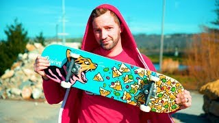 NEW SKATEBOARD FOR THE WINTER! / Andy Schrock