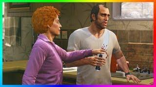GTA 5 - Did Trevor Philips Kill Patricia Madrazo? - The Dark & Creepy Secrets Of Trevor's Love Life!