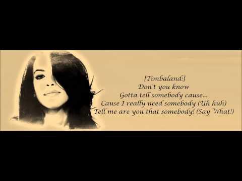 Xxx Mp4 Aaliyah Are You That Somebody Lyrics HD 3gp Sex