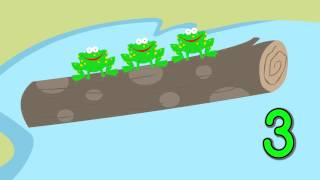 5 Little Speckled Frogs - Counting Song