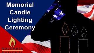 Veteran Candle Lighting Ceremony