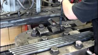 Making of a Square Head Machine Bolt