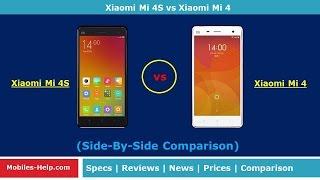 Xiaomi Mi 4S vs Xiaomi Mi 4 - Side By Side Comparison