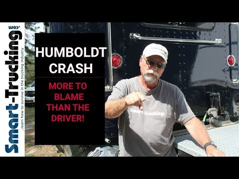 The Humboldt Crash - The Truck Driver Isn't the ONLY ONE to Blame