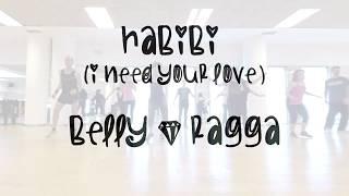 ZUMBA FITNESS - HABIBI (I need your love) - belly&ragga by Zin Lluïsa Arrom