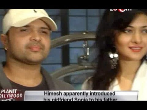 Himesh Reshammiya apparently introduced girlfriend Sonia Kapoor to his father