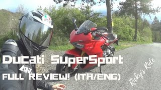 Ducati SuperSport S 2017 Review / Prova - Full test (ITA/ENG)