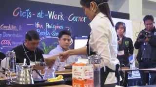 Pia Sandoval - IFEX Philippines Barista Showdown 2013