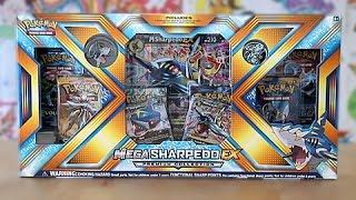 Opening A Mega Sharpedo EX Premium Collection Box!!!