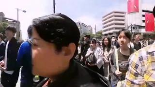 Harajuku city in 360 degree