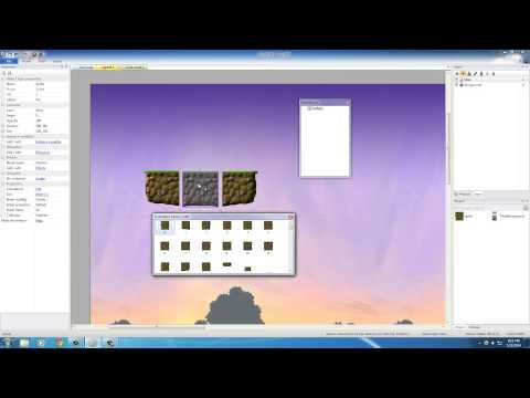 Platform Game Development w/ Construct 2 - 3 - Creating the World
