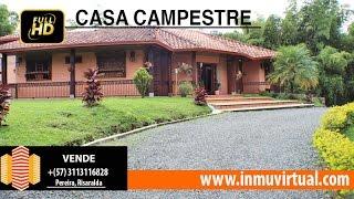Casa campestre, Condominio. Vía Armenia. Pereira - Homes for Sale Colombia