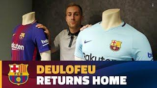 Deulofeu formalizes return to FC Barcelona