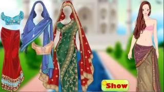 العاب بنات تلبيس هندية الساري