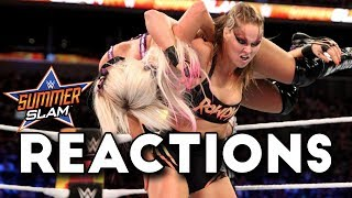 WWE SummerSlam 2018 Reactions
