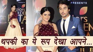 Golden Petals Awards: Thapki and Bihaan look CUTE Together; Watch Video | FilmiBeat