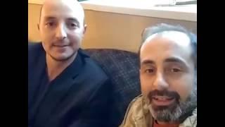 """النجم محمد اوسو """" كسمو """" في احدث اطلالة له مع الفنان ادهم مرشد في امريكا ! إعلان مسلسل جديد"""