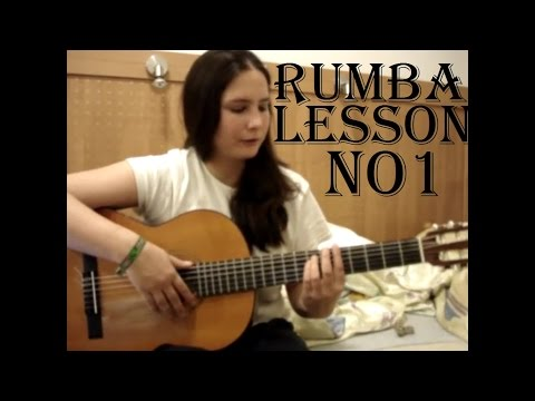 How to play Rumba - Guitar Lesson No1 ✔