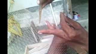 Ini dia cara menyulam jala ikan yang robek
